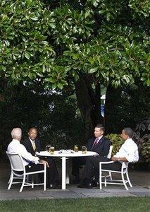 Obamas beer summit