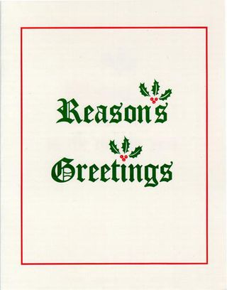 Reasons Greetings
